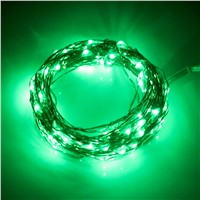 iTimo 100 LED 10M Fairy Lamps Copper Wire String Lights Home Decoration Christmas Wedding Party Party Supplies Solar
