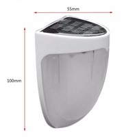Professional Outdoor Solar Power Garden Yard Wall Light Super Bright Garage Security Door Lamp IP55 Waterproof