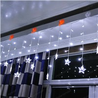 LED Curtain String christmas lights outdoor party Decoration Holiday lighting