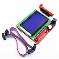 Smart Parts RAMPS 1.4 Controller Control Panel LCD 12864 Display Monitor Motherboard Blue Screen Module