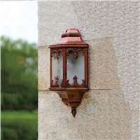 novelty outdoor wall sconce fence front door backyard lights E27 AC85-265v lamp landscape lighting wall lamps