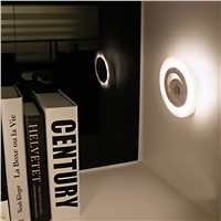 Sensor Body LED Night Light Wall Light Cabinet Light Indoor LED Lamp Motion Lamp Movable Wall Lamp Home Decorate Lighting