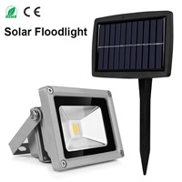 Outdoor 10W Solar Floodlight Waterproof Led Spotlight for LED Outdoor Garden Lamp