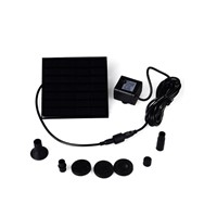 Lumiparty Irrigation System Solar Power Fountain Pool Water Sprinkler Pump Garden Tools Sun Plants Watering Outdoor Greenhouse