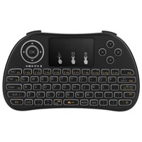 DHL SHIPPING 20PCS/LOTS P9-A Handheld Wireless Mini Keyboard Air Mouse (no Backlight) Function Touchpad