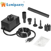 LumiParty Underwater Fountain Water Pump LED Light Submersible Pump Aquarium Fish Tank Pond Hydroponic Water Fountains