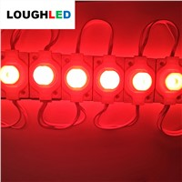 High Power DC12V 1.5W  IP65 with Lens 65*10 Injection LED Module for Double Sides Lighting Box White Red Green Blue Yellow