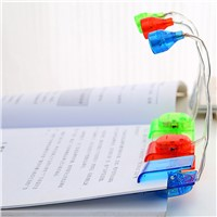 Flexible Mini Book Light Small Led Bedside Reading Lights Creative Reading Lamp Nightlight Reading Lamp Clip on luminaria