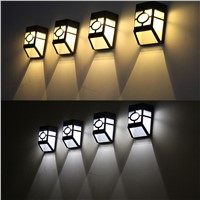 New Arrival Solar Power Wall Mount LED Light Outdoor Garden Path Landscape Fence Yard Lamp
