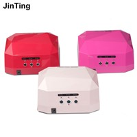 36W UV Lamp Nail Dryer LED UV Lamp for Nails Gel Dryer Nail Lamp Diamond Shape Curing for UV Gel Polish Nail Art Tools