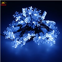 oobest 30 LED Solar Fairy String Lights outdoor new Year christmas decorations for home New Year's products for outdoor Garden