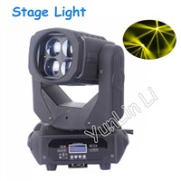 Stage Light 4x25w LED super beam shaking head light KTV bar Disco bar shaking  head light beam V-LM254