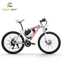 RichBit RT-006 Electric Bike 36V*10.4Ah Lithium Battery Mountain Electric Bicycle 26 inch 21 Speeds MTB EBike 250W Cycling ebike