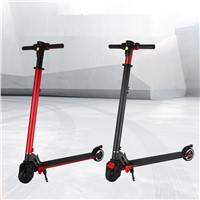 2017 6.5kg Electric  Carbon Fiber scooter 2 Wheel Standing kick bike Scooter Hover board Skateboard Foldable E-bike