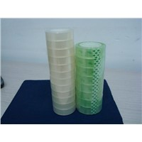 Stationery Adhesive Tape BOPP Office Clear Tapes Rolls