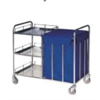 CI-09107 Stainless Steel Cleaning cart