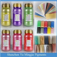 Color Pearl Pigment for Textile Printing