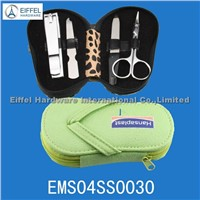 4pcs pedicure set with shoe shape(EMS04SS0030)