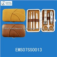 Hot sale 7pcs manicure kit in mini case(EMS07SS0013)