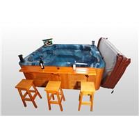 Luxury Outdoor massage spa hot tub