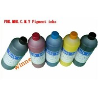 Refill Printing Pigment Ink for Epson Stylus Pro 7700 9700 Formate Pigment Inks (5colors)