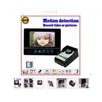 Saful TS-WP709 2.4GHz Wireless Video Door Phone (Record+unlock function)