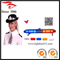 red blue police lightbar