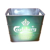 tin beer bucket ice bucket beer cooler