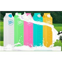 cartoon milk power bank as promotional gifts
