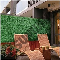 Artificial green leave fence, small fences for garden