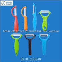 Promotional ceramic Peeler , different models in different colors (EKT01CE0054)