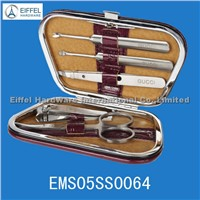 5pcs High quality pedicure set in small case (EMS05SS0064)