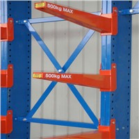 Heavy weight and powder coating cantilever racking