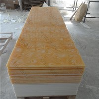 KKR 6mm Translucent Resin Panel , Translucent Ceiling Panel
