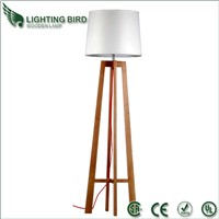 Modern Wooden Floor Lamp for Hotel and bedroom, Factory Price