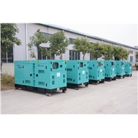Generator Set Powered by Cummins Engine Leroy Somer Alternator with Super Silent Canopy