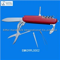 9 in1 ABS handle Multi knife , Handle color can be customized(EMK09PL0002)