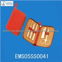 High quality 5pcs Manicure in purse shape pouch (EMS05SS0041)