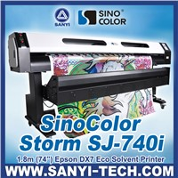 1.8m DX7 Inkjet Printer,Sinocolor SJ740i,Easy Maintenance, Promotion Model