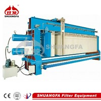 Automatic washing filter press for industrial wastewater treatment, better filteration