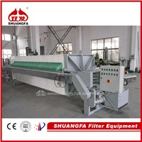 Cost-effective chamber filter press with sewage treatment system, saving money