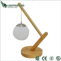 Special design wooden table lamp