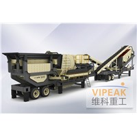 dealer of Construction waste mobile crushing plant