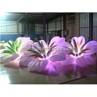 2014 light inflatable flower for stage party decoration