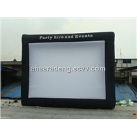 Hot sale outdoor inflatable movie screen