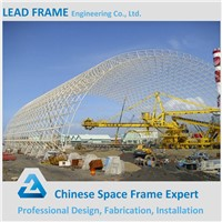 prefabricated high quality space frame construction design steel structure warehouse