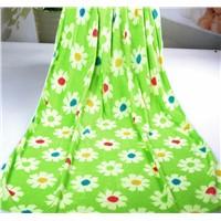 100% polyester microfiber printed beach towel