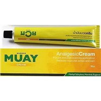 30G ORIGINAL NAMMAN MUAY CREAM THAI BOXING ANALGESIC BALM lINIMENT MUSCLE