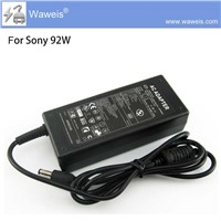 Waweis AC DC Charger For Sony VGP-AC19V26 19.5V 4.7A 92W AC Adapter