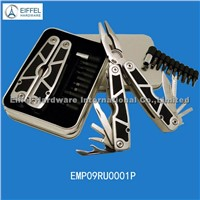 Multi tools with 11 bits in tin box  (EMP09RU0001P)